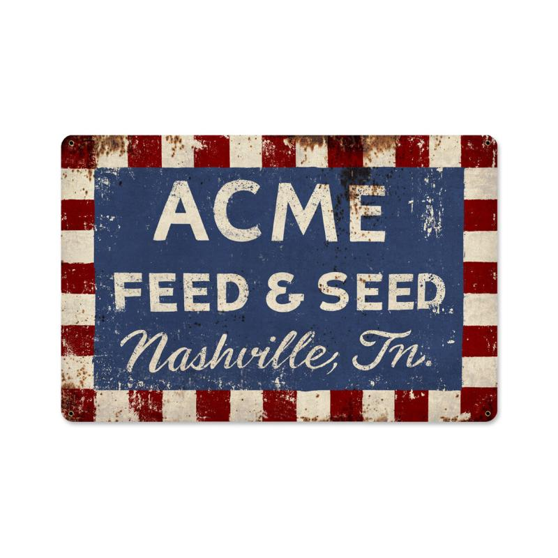 Acme Feed Sign