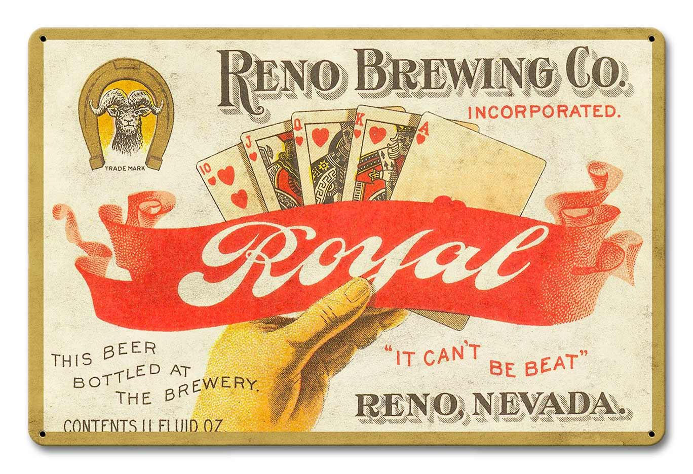 Reno Brewing Co Royal Beer