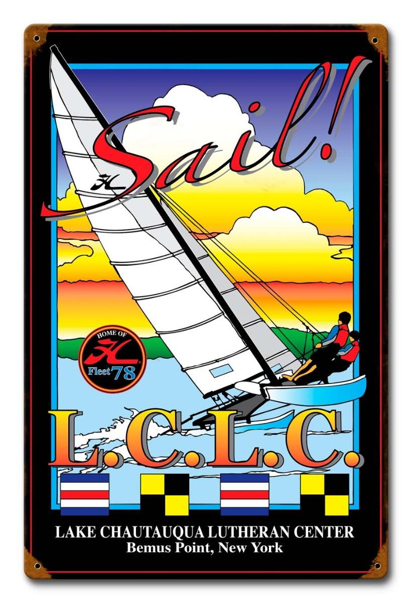 Sail Vintage Sign