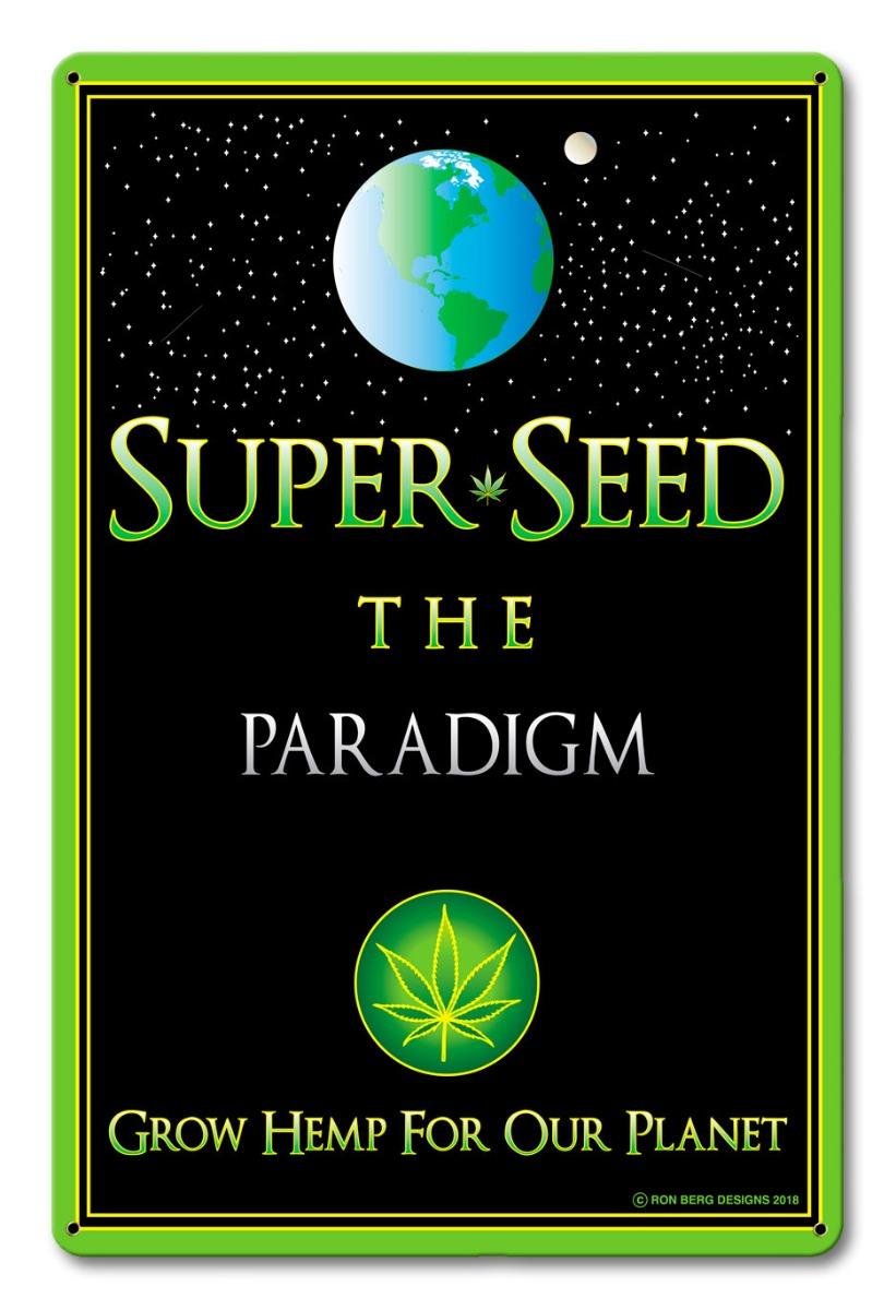 Super Seed Vintage Sign