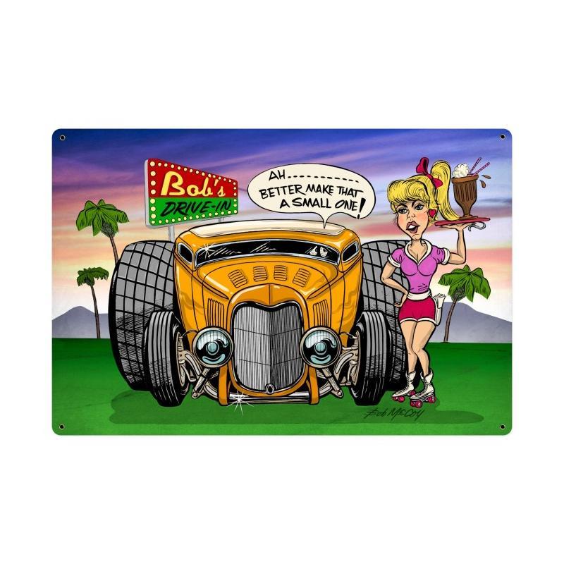 Bob's Drive In Vintage Sign
