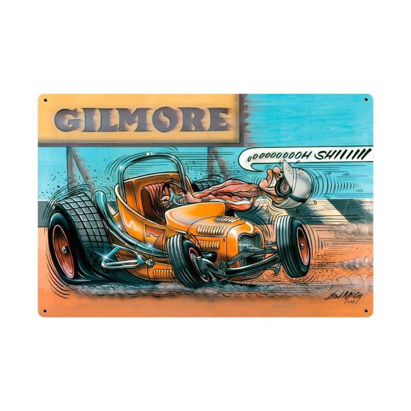 Gilmore Racer Vintage Sign