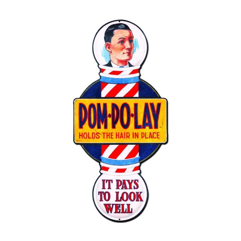 Pom Polay Vintage Sign