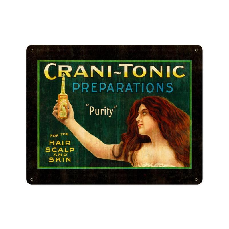 Crani-Tonic Vintage Sign