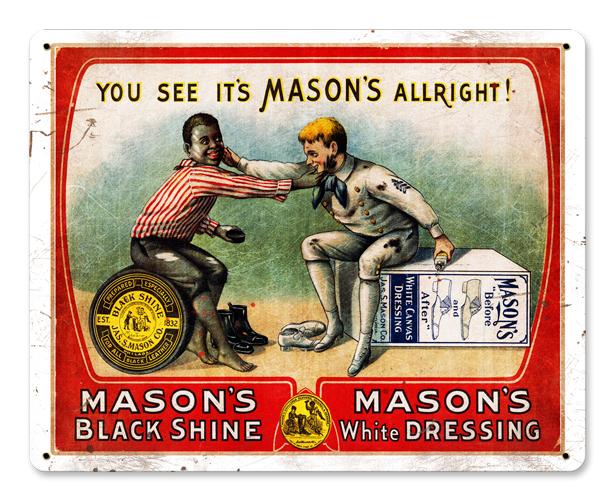 Mason's Vintage Sign