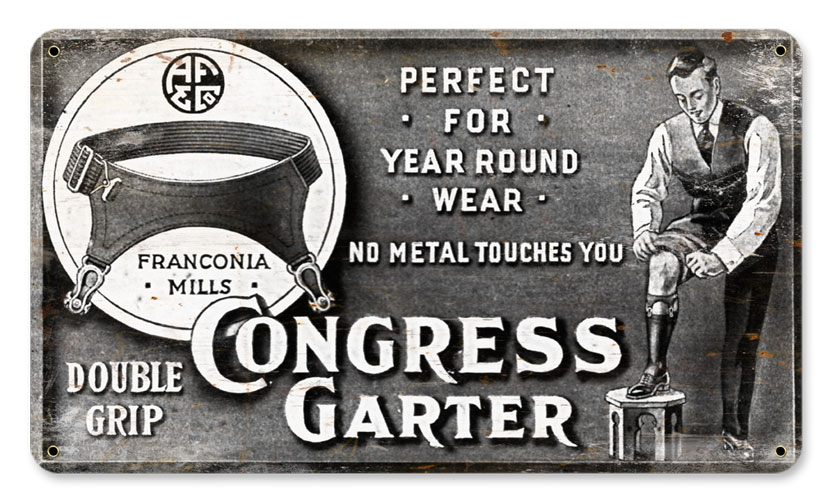 Congress Vintage Sign