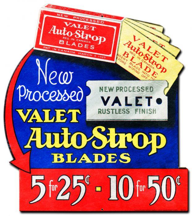 Auto Strop Vintage Sign