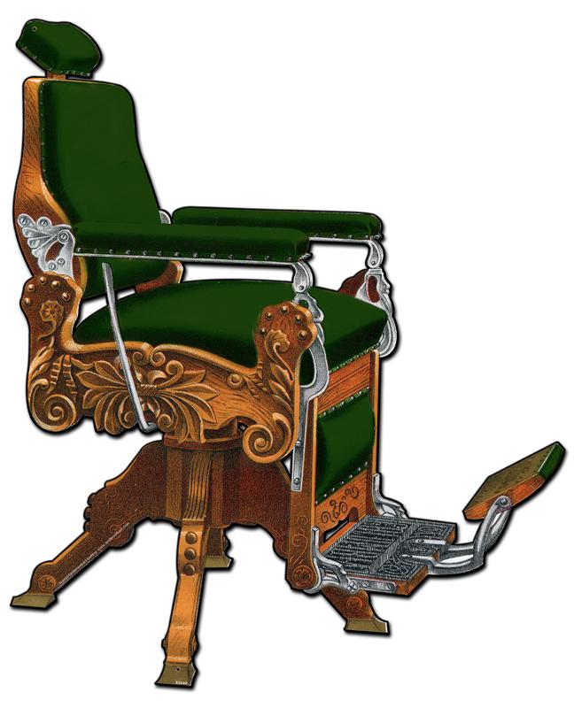 Kochs Barber Chair Vintage Sign