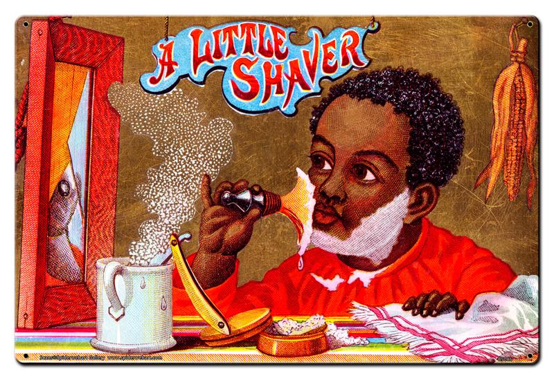 Little Shaver Vintage Sign