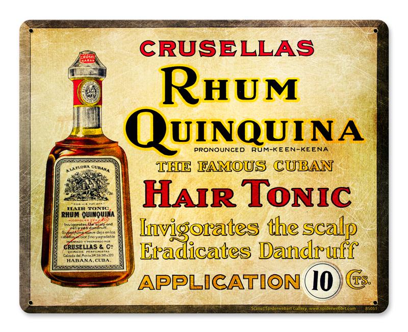 Rhum Quinquina Vintage Sign
