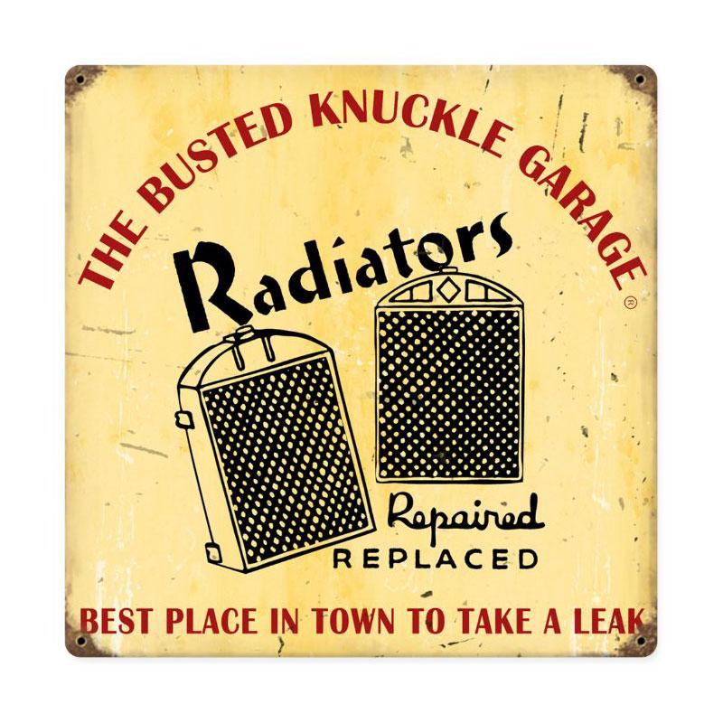 Radiator Repair Vintage Sign