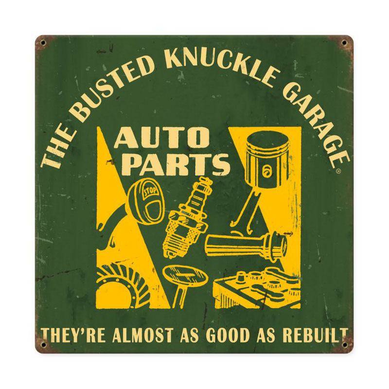 Auto Parts Vintage Sign