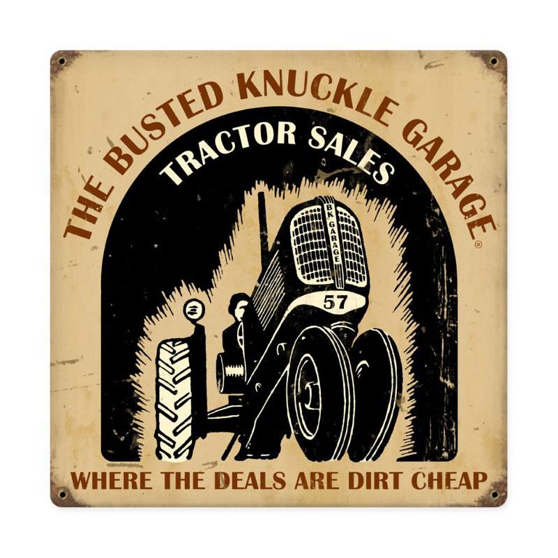 Tractor Shop Vintage Sign