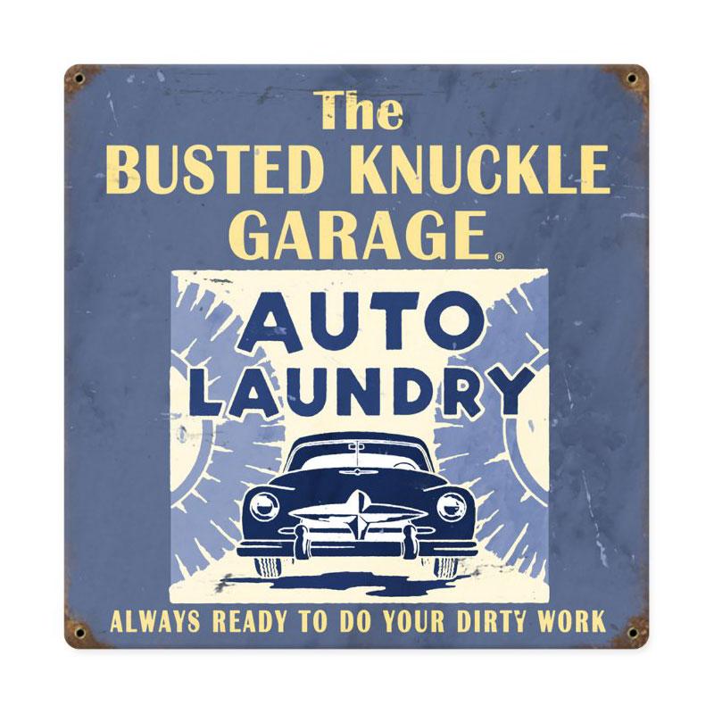 Car Wash Vintage Sign