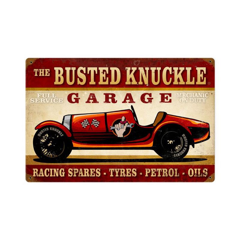 Vintage Race Car Vintage Sign