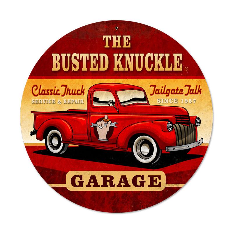 Old Truck Vintage Sign