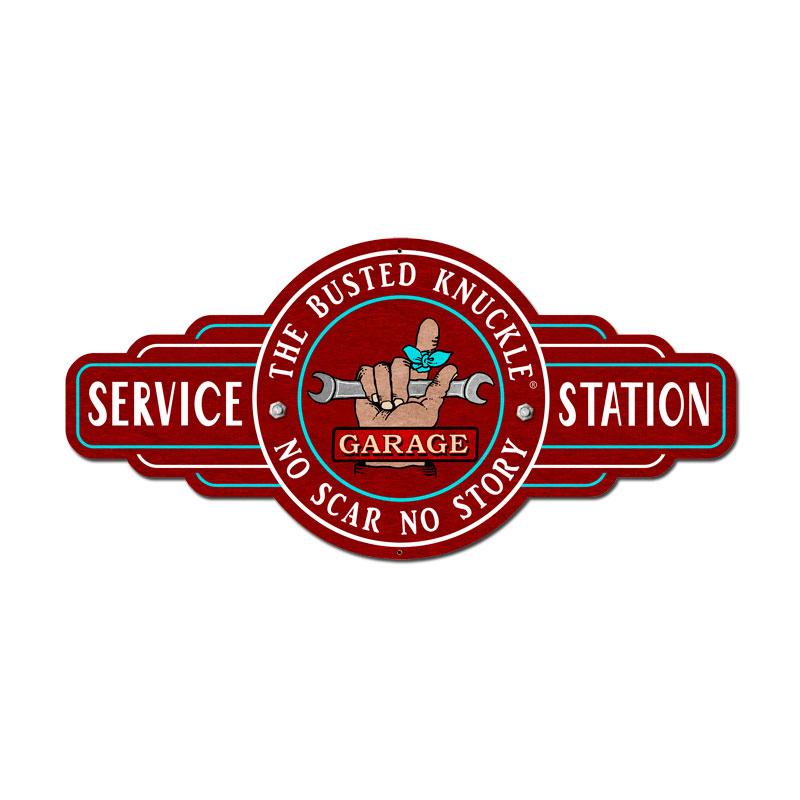 Service Station Vintage Sign
