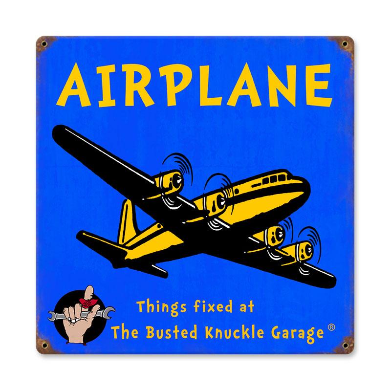 Kids Airplane Vintage Sign