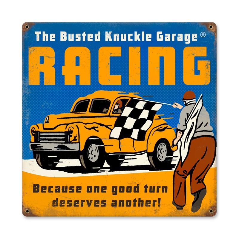 Racing Vintage Sign