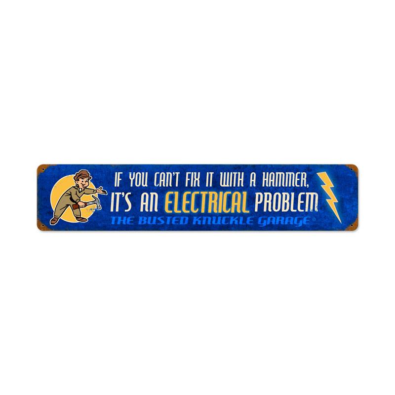 Electrical Problem Vintage Sign
