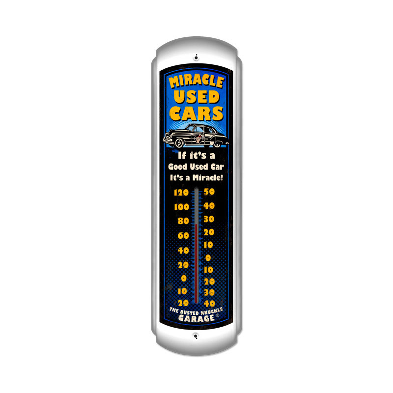 Miracle Used Cars Thermomter