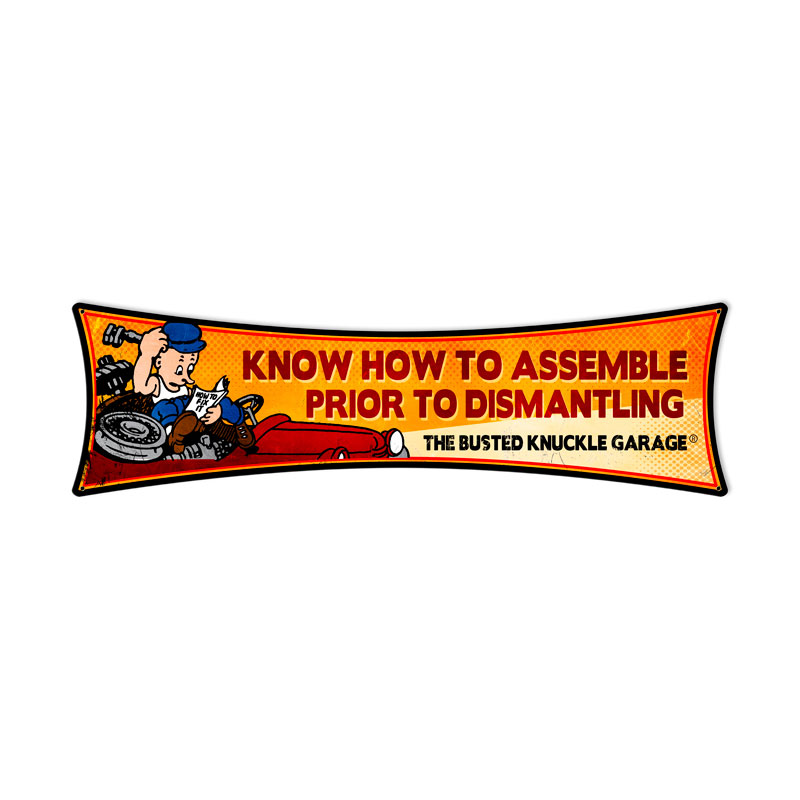 Know How To Assemble Vintage Sign
