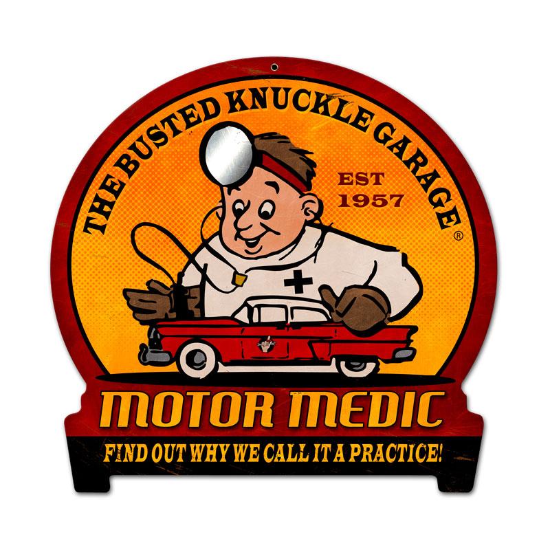 Motor Medic Vintage Sign