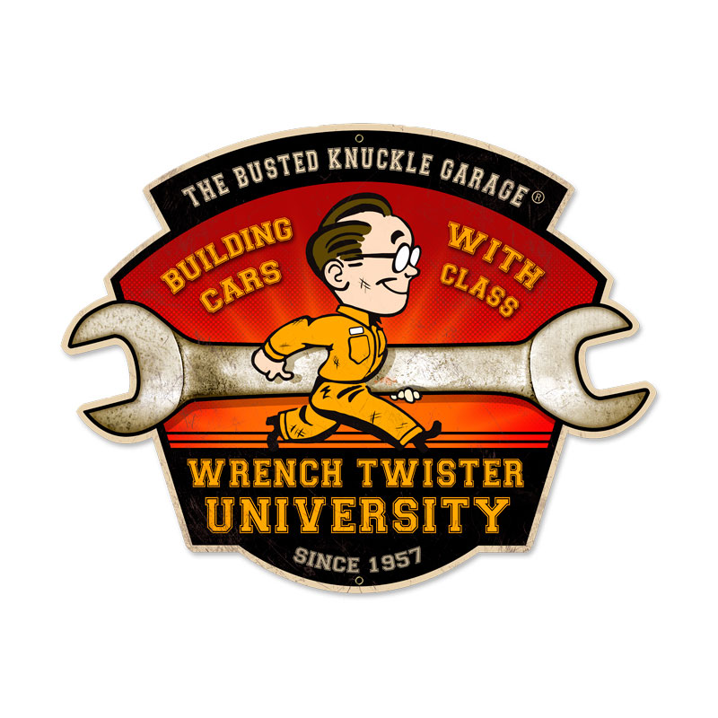 Wrench Twisters Vintage Sign