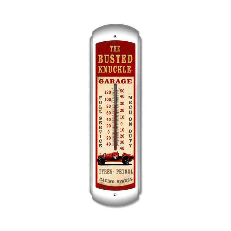 Old Race Car Thermomter