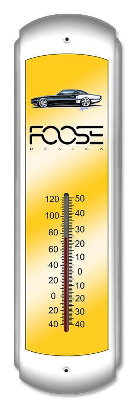Foose Yellow Thermometer Thermomter