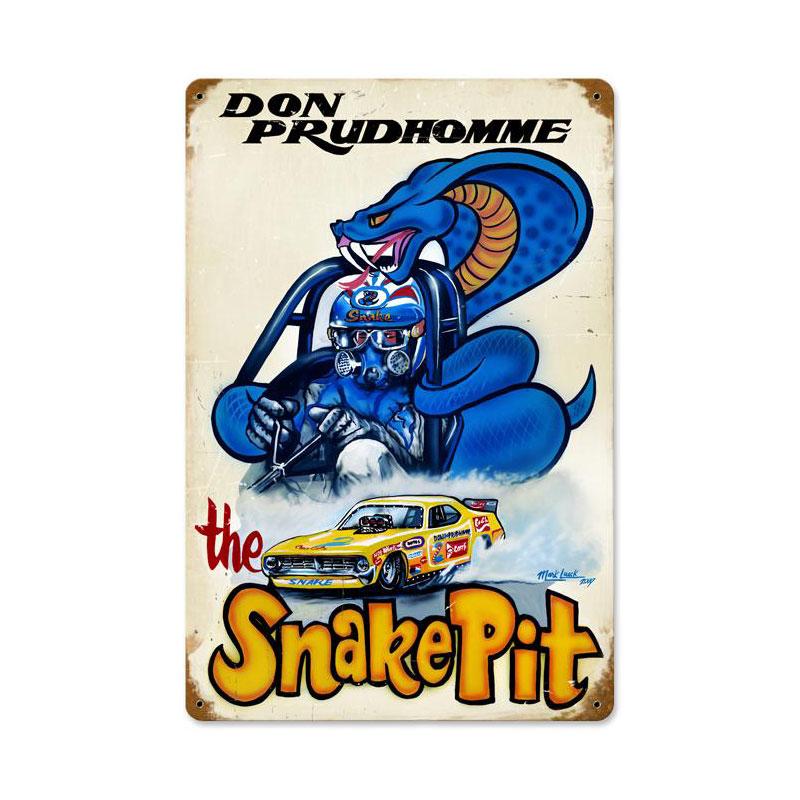 Snake Pit Vintage Sign