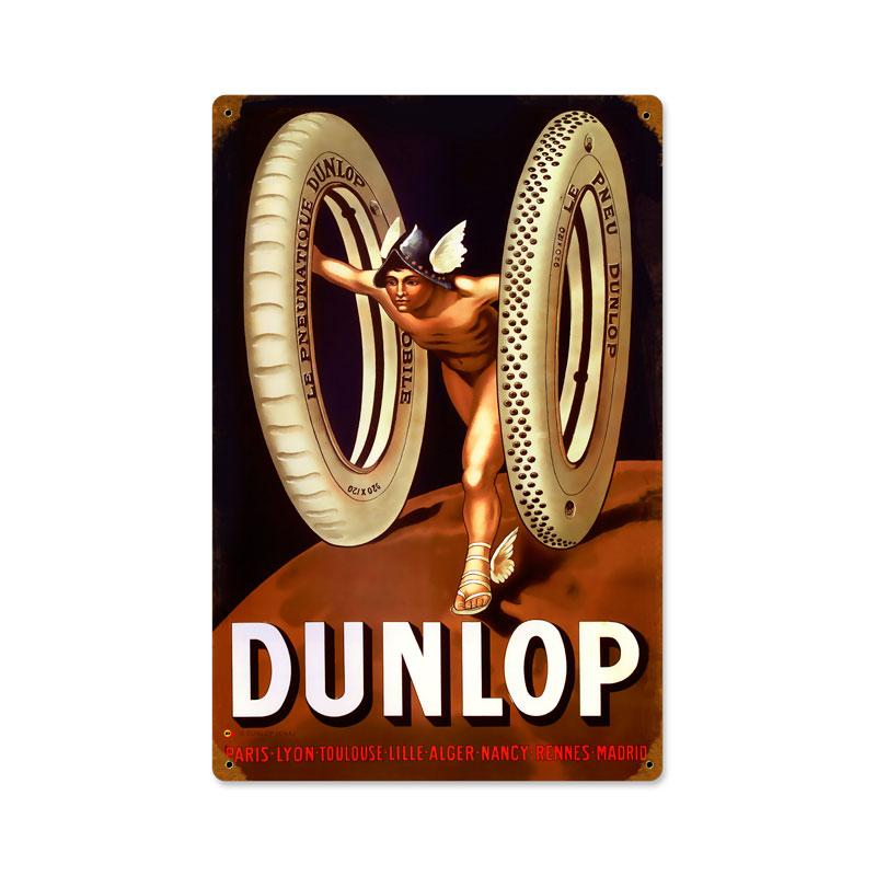 Dunlop God Vintage Sign