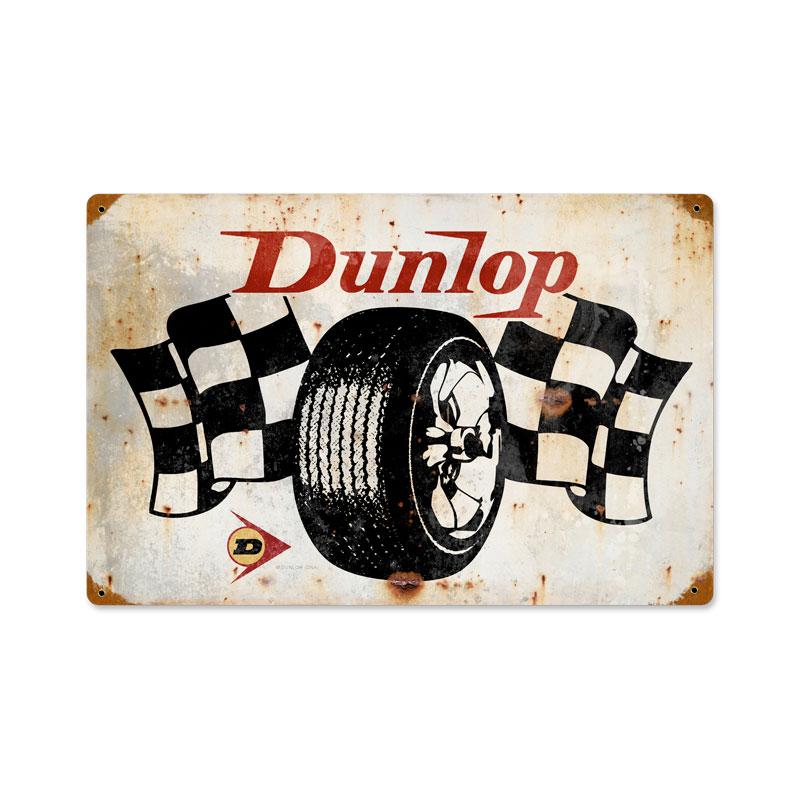 Dunlop Flags Vintage Sign