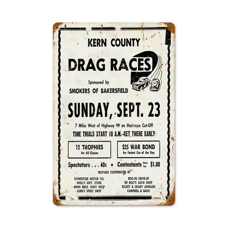 Kern County Vintage Sign
