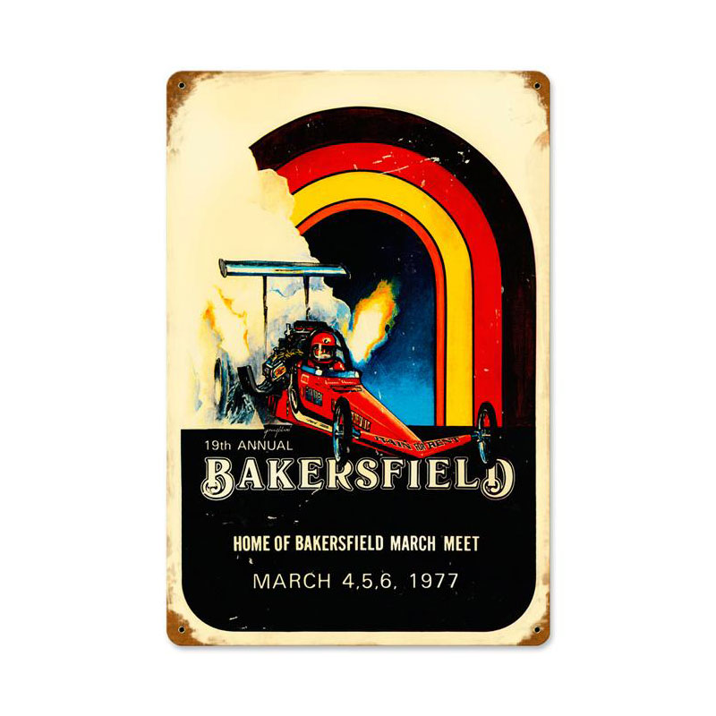 Bakersfield 19Th Vintage Sign