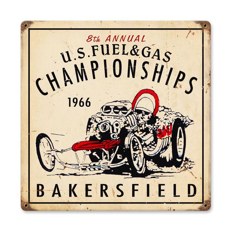 Us Fuel Gas Vintage Sign