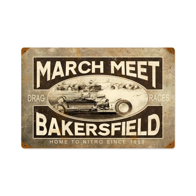 March Meet Vintage Vintage Sign