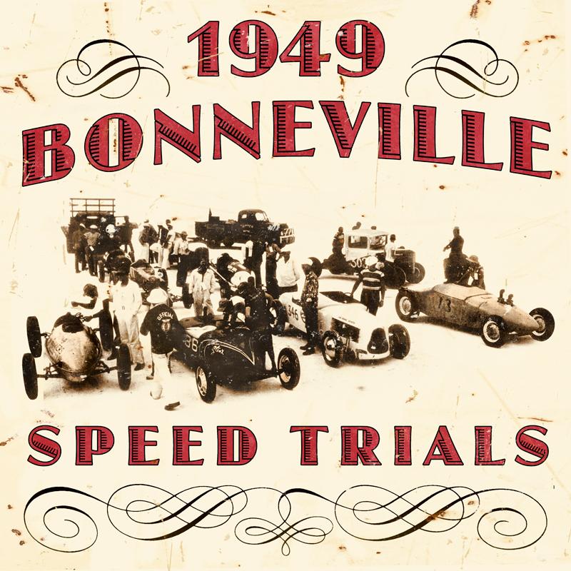 1949 Bonneville Vintage Sign