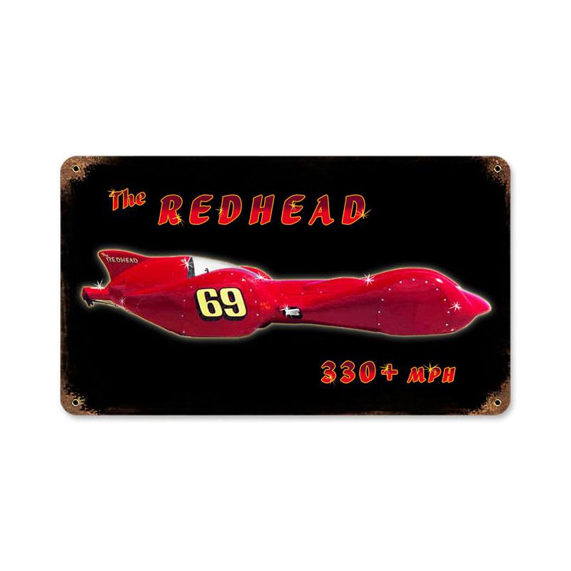 Redhead Vintage Sign