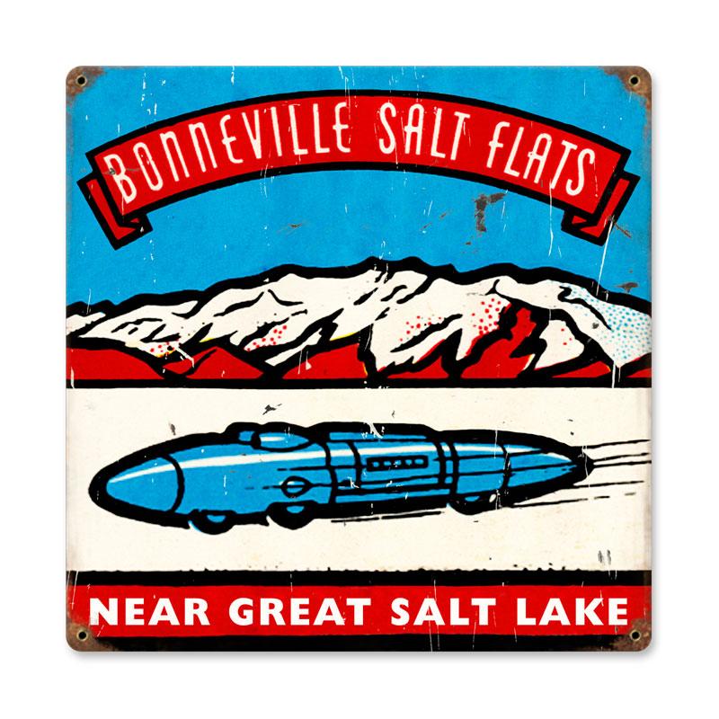 Salt Flats Vintage Sign