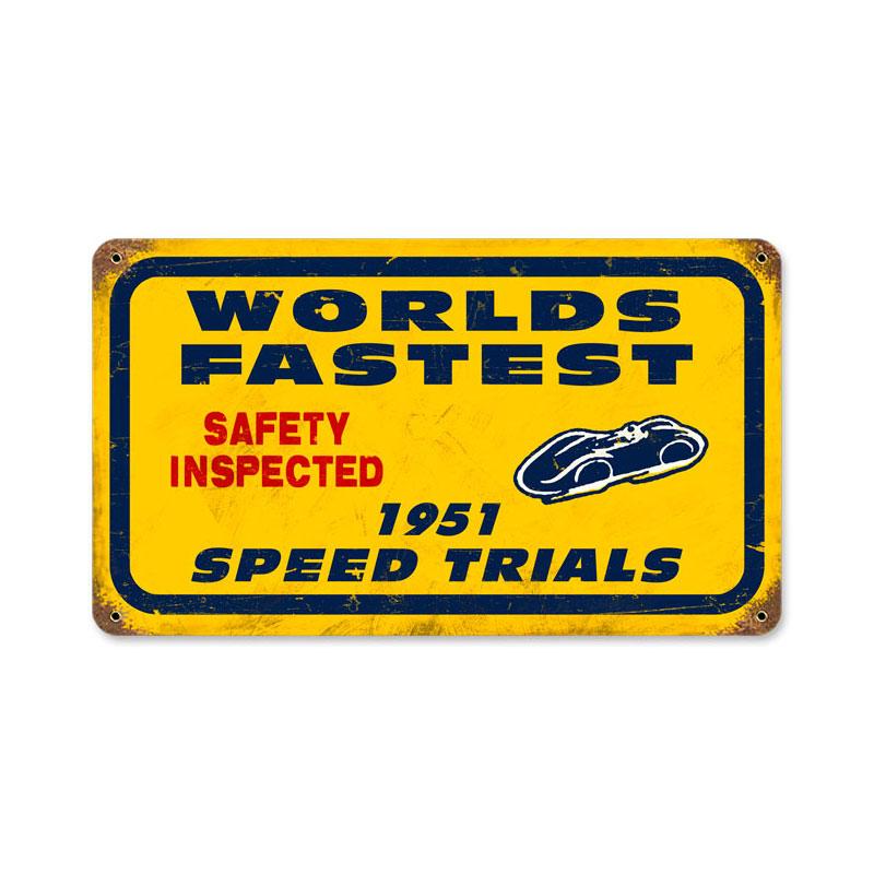 Bonneville Speed Trials Vintage Sign