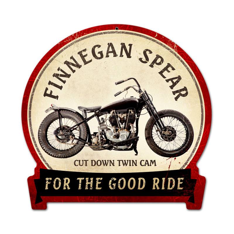 Finnegan Spear Vintage Sign