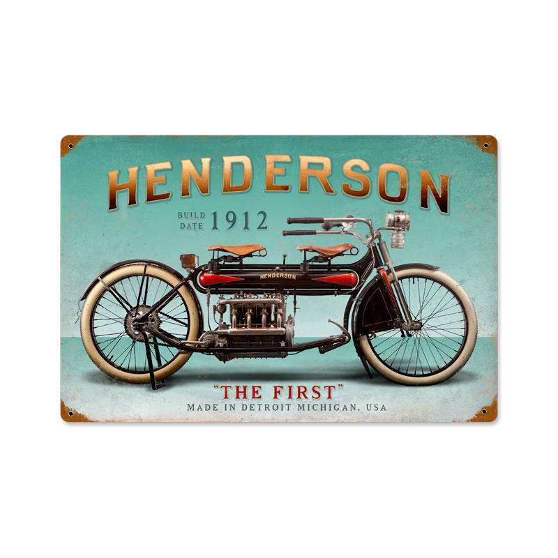 Henderson First Vintage Sign