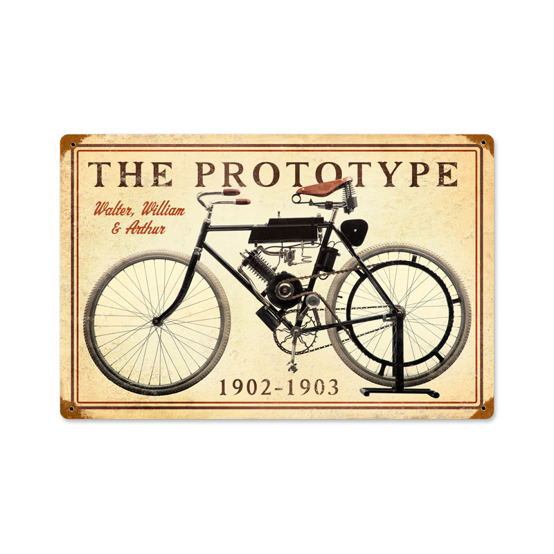 The Prototype Vintage Sign
