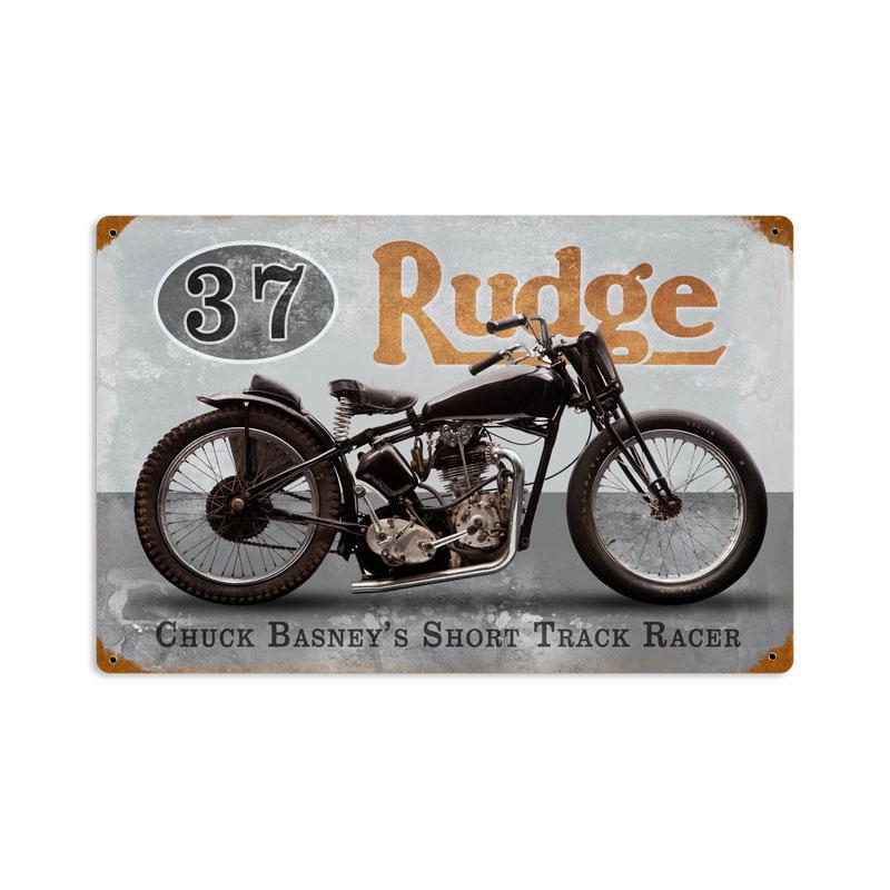 Basneys Rudge Vintage Sign
