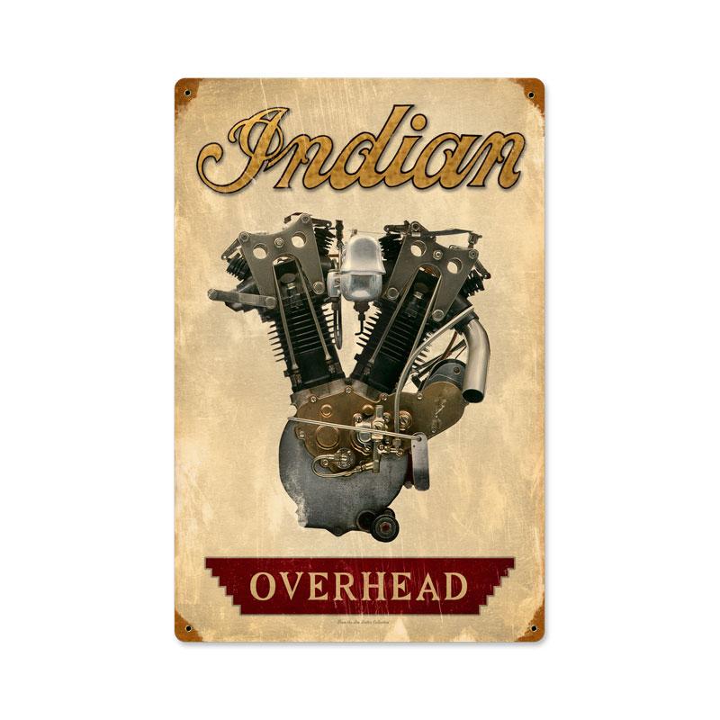 Indian Engine Vintage Sign
