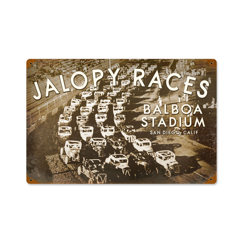 Jalopy Vintage Sign