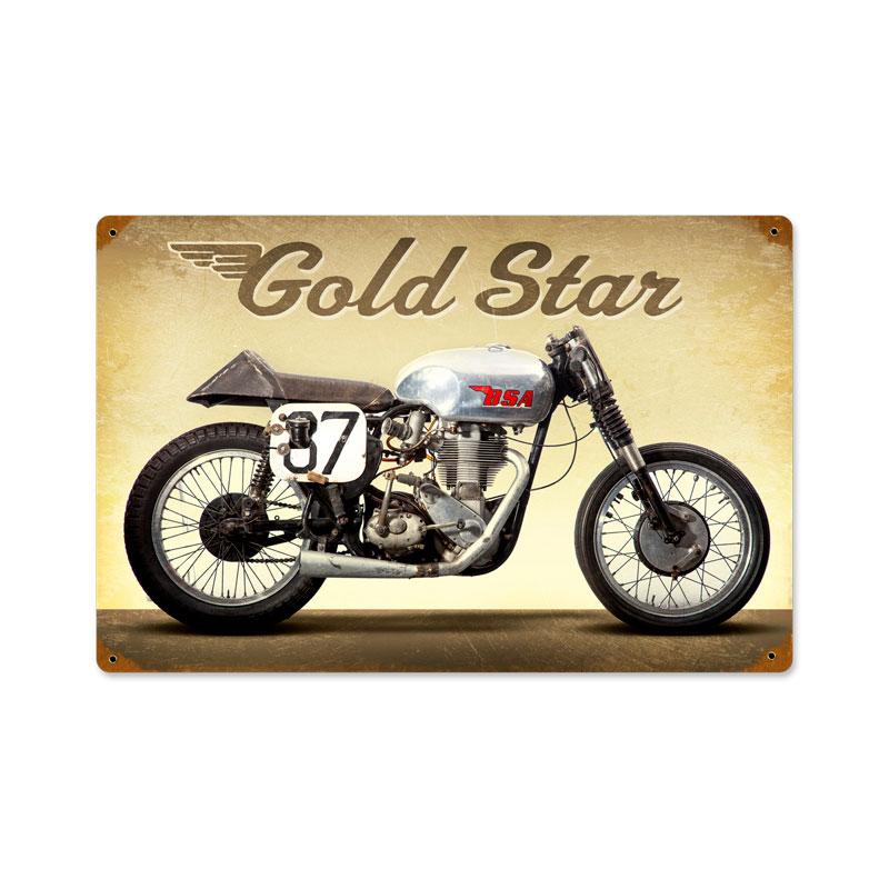 Goldstar Vintage Sign