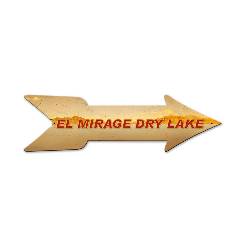 El Mirage Arrow Vintage Sign