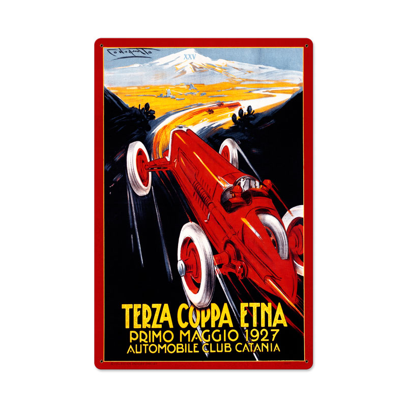 Terza Coppa Vintage Sign